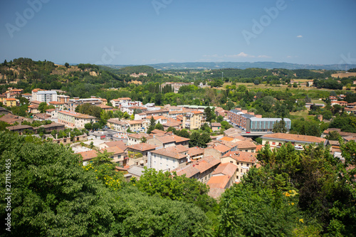 Fotografie, Obraz  View to the town of Colle di Val d`Elsa in Italy