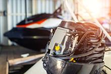 Repairing Inflatable Motorboat...