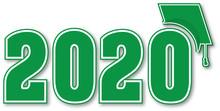 Class Of 2020 Green Cap