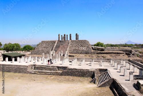 Toltec Atlantes, Tula de Allende, Hidalgo state, Mexico