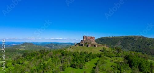 chateau de Murol, auvergne in france Canvas Print