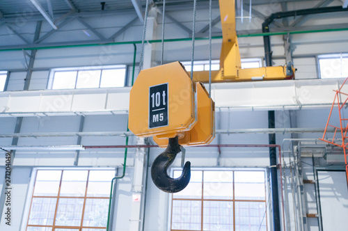 Photo Factory overhead crane hook