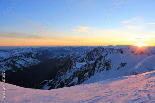 Valokuvatapetti mont blanc