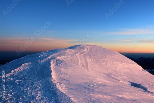 Fototapeta  Mont Blanc par l'arête des Bosses
