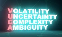 Acronym VUCA - Volatility Unce...
