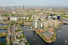 Aerial View Media City Manches...