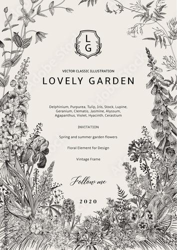 Slika na platnu Lovely Garden