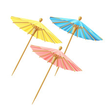 Set Of Cocktail Umbrellas, For...