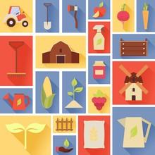 Harvest Icons. Seasonal Food. ...