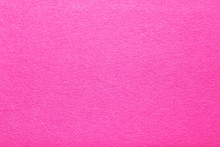 Hot Pink Felt Texture Abstract Art Background. Colored Fabric Fibers Surface. Empty Space.