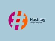 Hashtag Symbol Logo Icon Desig...