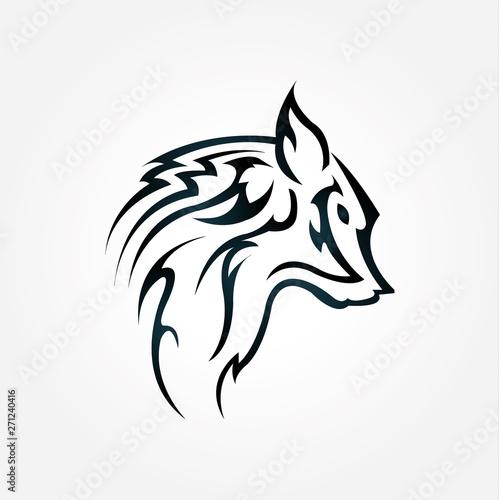 Fototapety, obrazy: Wolf