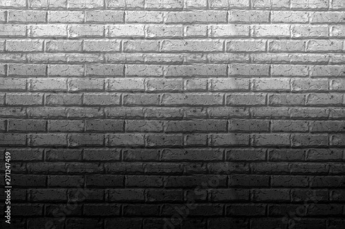 Garden Poster Brick wall Picture of a brick wall used as a background