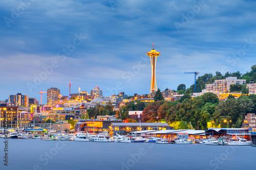 Photo  Seattle, Washington, USA skyline