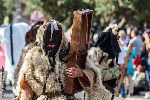 Fotografija  Iberian Mask Festival Parade in Lisbon