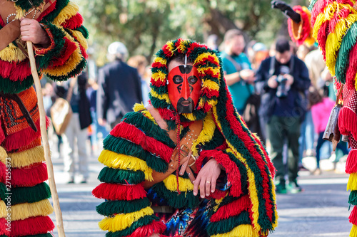 Fotografija Masked Men (Caretos de Podence) at Iberian Mask International Festival in Lisbon