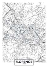 City Map Florence, Travel Vect...