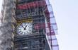 Big Ben under the renovation