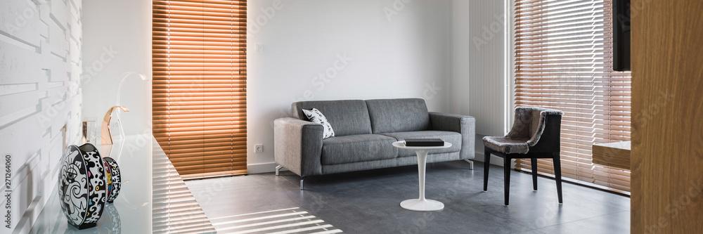 Fototapety, obrazy: Spacious living room