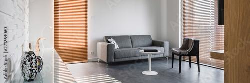 Obraz Spacious living room - fototapety do salonu