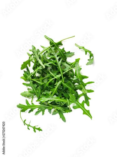 Photo Heap of arugula leaves