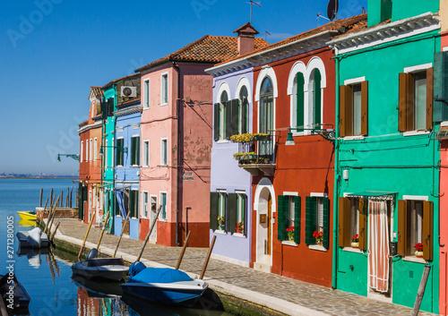 Fototapety, obrazy: Canal in Burano, Venice