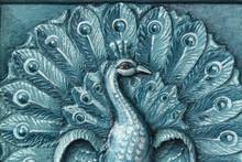 Blue Color India Temple Peacoc...