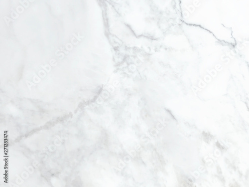 Tuinposter Stenen White marble background and texture and scratches