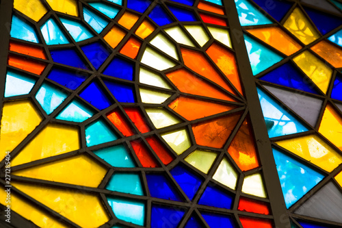 Wallpaper Mural Stained glass window