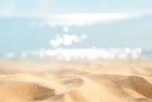 Summer Tropical Sand Beach And...