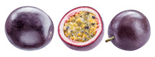 Set Of Passion Fruits And Its ...