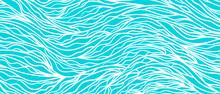 Monochrome Wave Pattern. Color...