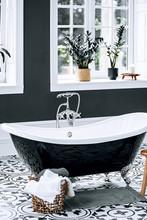 Scandinavian Style Bathroom Tub