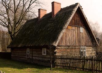 Skansen. Stara chata.
