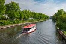 Hamburg, Germany. The River Al...