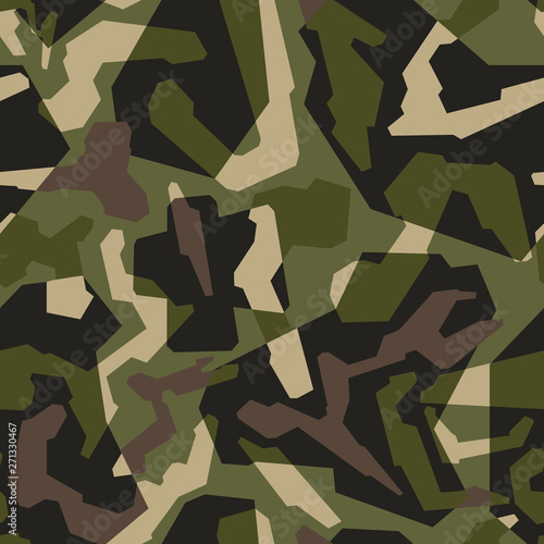 Photo  Modern geometric style texture military camouflage