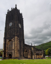 Halifax Minster In West Yorkshire A Medieval Church Formerly A Parish Known As Saint John The Baptist Completed In 1438