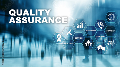 The Concept of Quality Assurance and Impact on Businesses Canvas Print