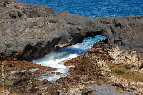 Fotografie, Obraz  Olas y rocas