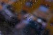 rain glass background
