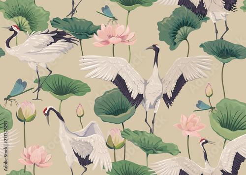 bezszwowy-wzor-z-japonskimi-zurawiami-i-lotosowymi-kwiatami