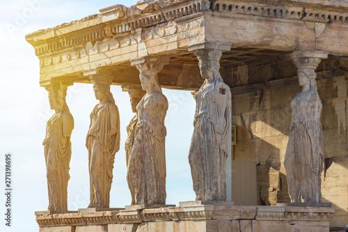 Printed kitchen splashbacks Athens The Caryatids of the Erechtheion in Acropolis, Athens Greece