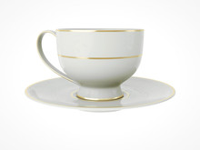 Isolated Antique Porcelain Cup...