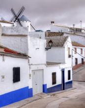 Campo De Criptana, Village Typique De La Mancha, Espagne