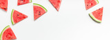 Fresh watermelon slices pattern