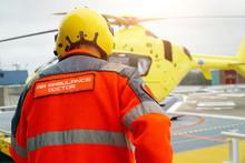 Doctor Of An Air Ambulance Run...