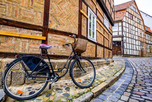 facade in quedlinburg