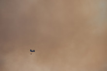 Helicopter Fighting Wildfires ...