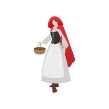 Cute Fairy Tale Character Litt...