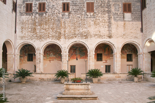 St Catherine Church in Galatina, Puglia, Italy Canvas Print